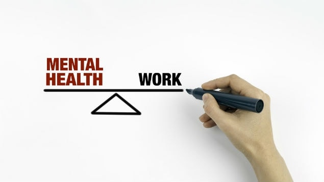How does work affect your mental health?
